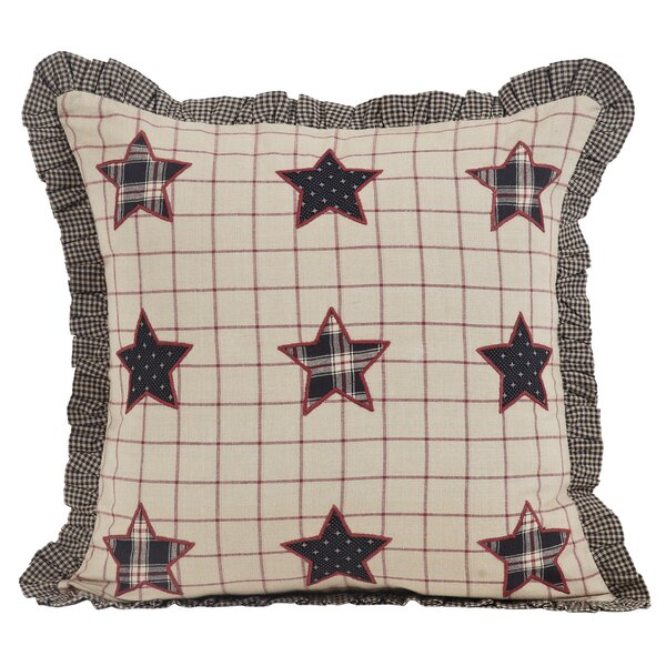 McClusky 100% Cotton Throw Pillow by August Grove